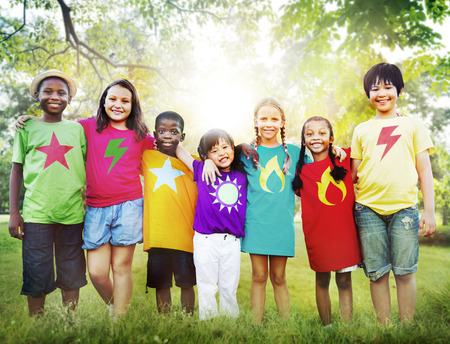 happiness symbol: Children Friendship Togetherness Smiling Happiness