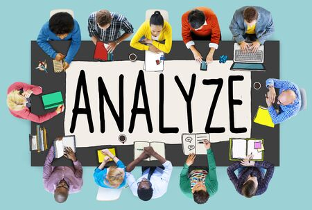 office team: Analyze Evaluation Consideration Analysis Planning Strategy Concept