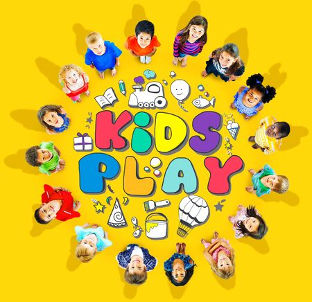 hobby: Kids Play Imagination Hobbies Leisure Games Concept Stock Photo