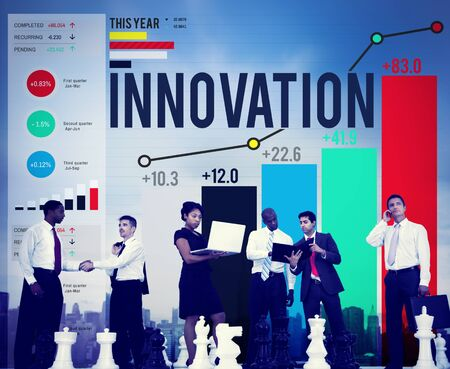 organisational: Innovation Innovate Inspiration Invention Imagination Concept