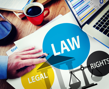 legality: Law Legal Rights Judge Judgement Punishment Judicial Concept Stock Photo