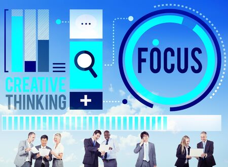 focalise: Focus Concentrate Definition Target Point Concept