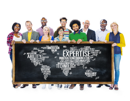 profession: Expertise Career Job Profession Occupation Concept Stock Photo