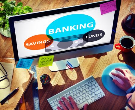 cash flow statement: Banking Savings Funds Planning Finance Money Concept