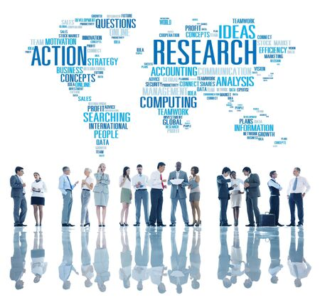 scientific research: Research Study Report Response Result Action Concept