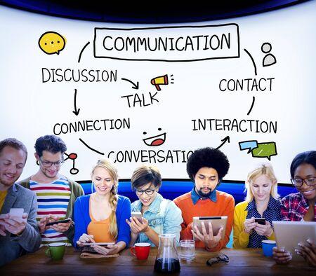 telecomm: Communication Discussion Contact Conversation Concept
