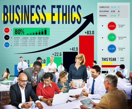 moral: Business Ethics Integrity Moral Responsibility Concept