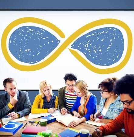 eternity: Infinity Eternity Loop Forever Eternal Concept
