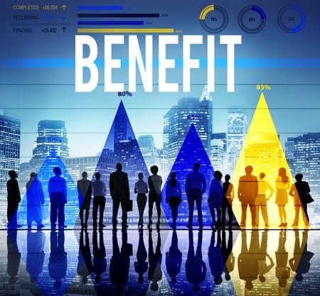 reclamos: Beneficio de Servicio de Bienestar Valor Reclamaciones Concepto Foto de archivo
