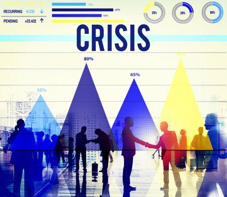 recession: Crisis Global Economy Finance Recession Concept