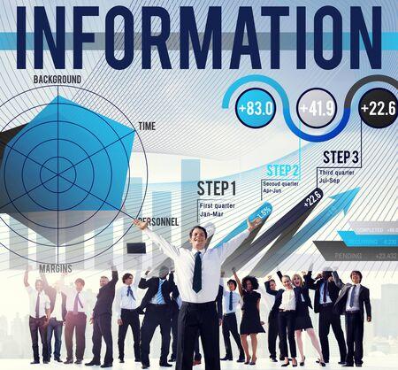 Information Data Global Communication Media Concept Stock Photo