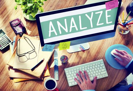 企画統計解析データ情報を分析します。