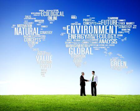 recursos naturales: Ecolog�a Medio Ambiente Conservaci�n Productividad Concept Foto de archivo
