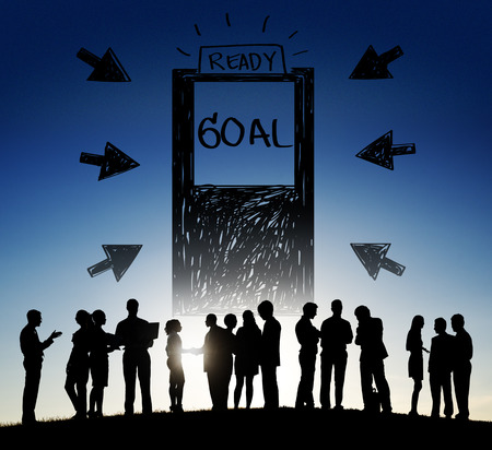expectations: Goal Expectations Aim Opportunity Success Concept Stock Photo