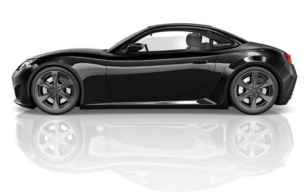 silhouette voiture: Sans marque de voiture Concept de véhicule automobile