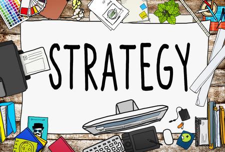 tactics: Strategy Planning Solution Vision Tactics Concept