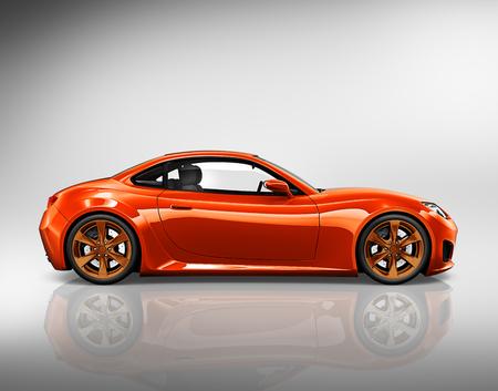 alloy: Car Vehicle Transportation 3D Illustration Concept