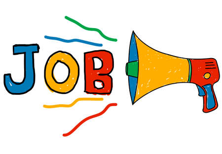 employing: Job Career Occupation Recruitment Human Resource Concept