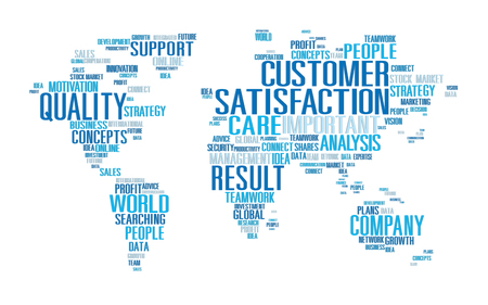 Customer Satisfaction Reliability Quality Service Concept Фото со стока