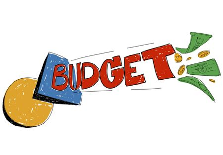 budget: Budget Banking Expenses Planning Concept Stock Photo