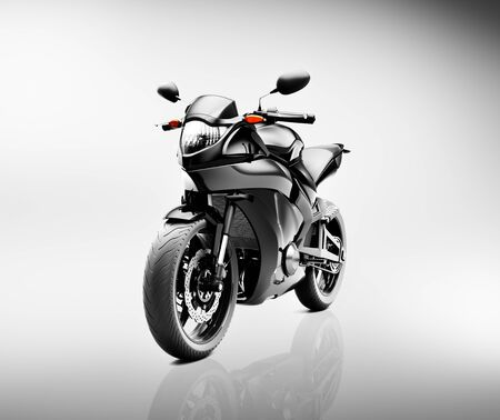 motorcycle: Brandless Motorcycle Motorbike Vehicle Concept