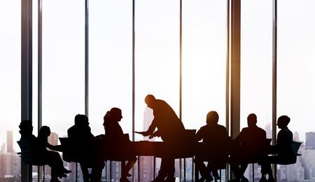 teamwork business: Business People Meeting Working Teamwork Concept