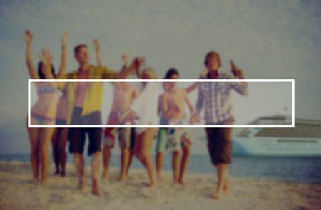 zweisamkeit: Sommer Zusammenhalt Freundschaft Vacation Bonding Konzept