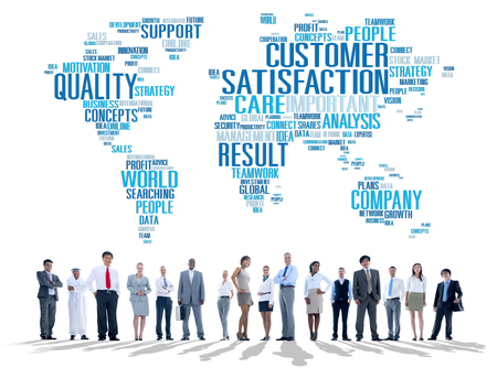 quality: Customer Satisfaction Reliability Quality Service Concept Stock Photo
