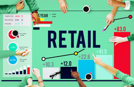 retail place: Retail Shopping Purchasing Capitalism Customer Concept Stock Photo
