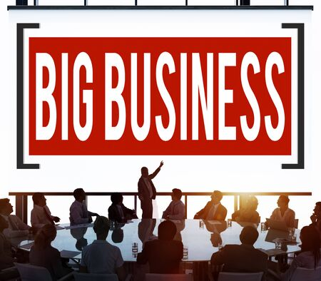 capitalism: Big Business Competition Capitalism Corporate Concept