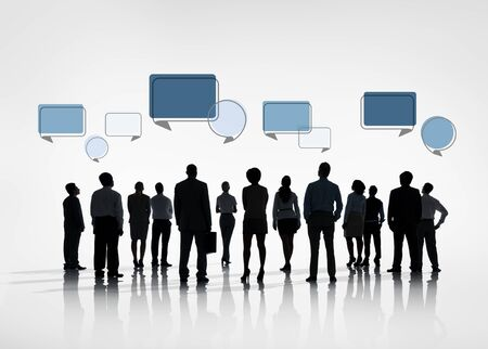 teamwork business: Business Collaboration Colleague Occupation Partnership Teamwork Concept Stock Photo