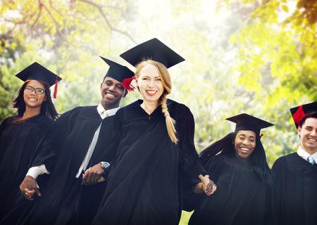 altogether: Graduation Students Education Degree Achievement Concept