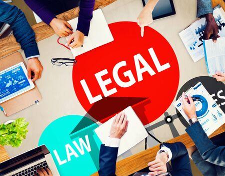 ley: Reglas Derecho Legal Comunidad Justicia Social Encuentro Concepto