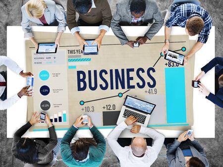 Business Startup Corporate Enterprise Company Concept 版權商用圖片