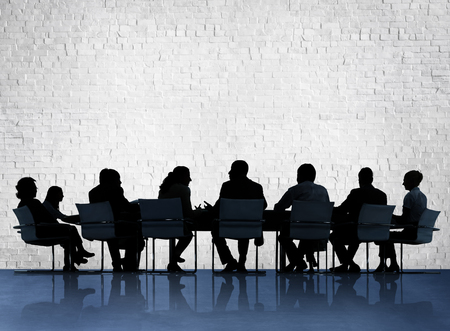 Business People Conference Meeting Discussion Concept Stock Photo