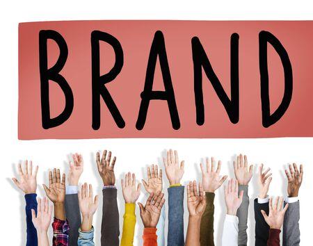 branding: Brand Branding Copyright Trademark Marketing Concept