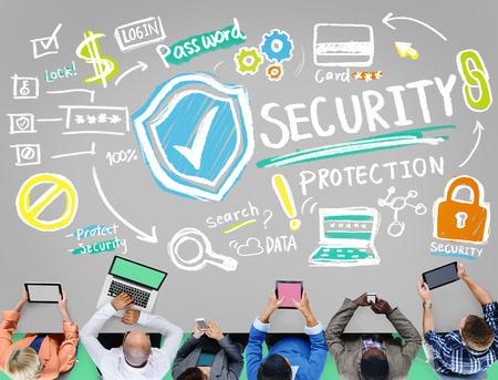 privacidad: Seguridad Protección Escudo de Privacidad Red Concepto
