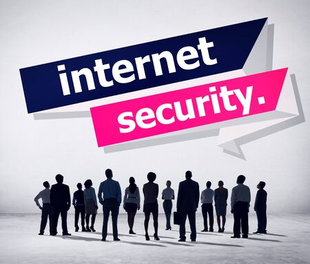 security protection: Internet Security Protection Phishing Prevent Protect Concept Stock Photo