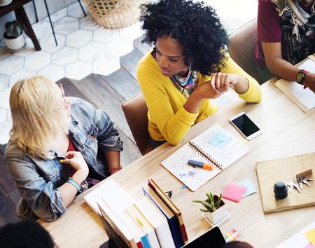 Designer Teamwork Brainstorming Planning Meeting Concept