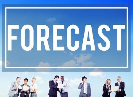 probability: Forecast Prediction Precision Probability Future Concept Stock Photo