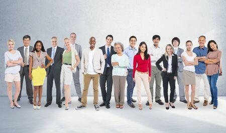 community group: Diversity People Aspiration Community Group Concept