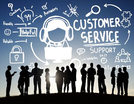help center: Customer Service Support Assistance Service Help Guide Concept