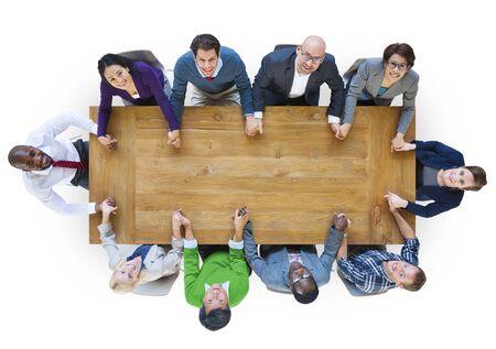 diversidad: Diversidad Gente de negocios trabajo en equipo Concepto Soporte