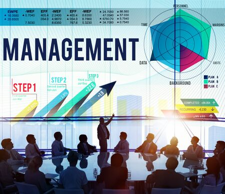 authoritarian: Management Authoritarian Coaching Trainer Concept Stock Photo