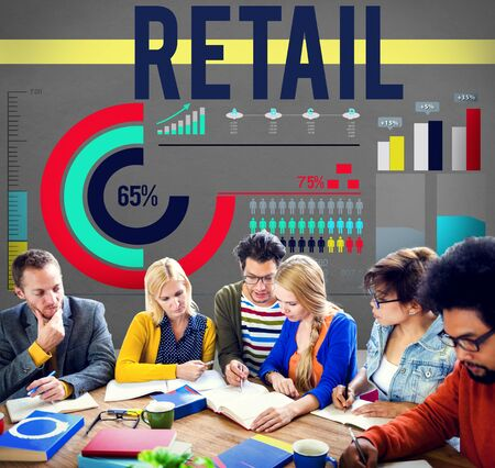 capitalism: Retail Compra Venta capitalismo Consumidor Concepto