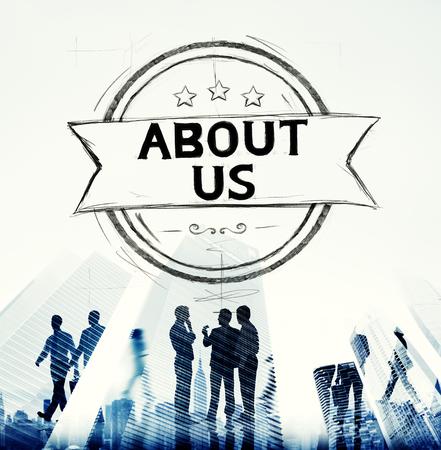 A propos de nous Contact Aide Data Concept Banque d'images - 44690248