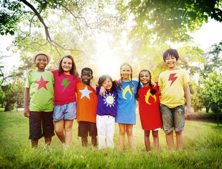 togetherness: Children Friendship Togetherness Smiling Happiness