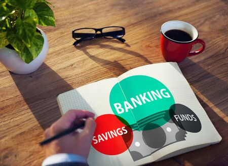 funds: Banking Savings Funds Planning Finance Money Concept