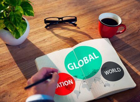 variation: Global Nation World International Variation Unity Concept Stock Photo