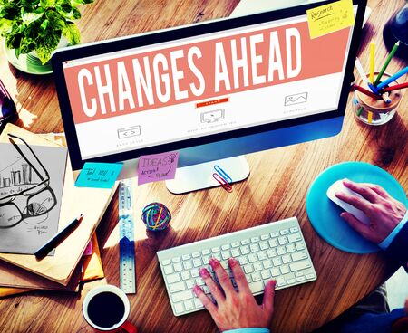 Changes Ahead Ambition Aspiration Improvement COncept